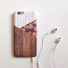 Rose Wood iPhone 6 case floral iPhone 5 flower by IsolateCase Lover #floral #iPhone 6 Case, Follow @CutePhoneCases