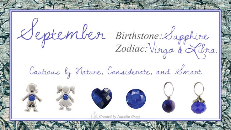 Origami Owl September Birthstones