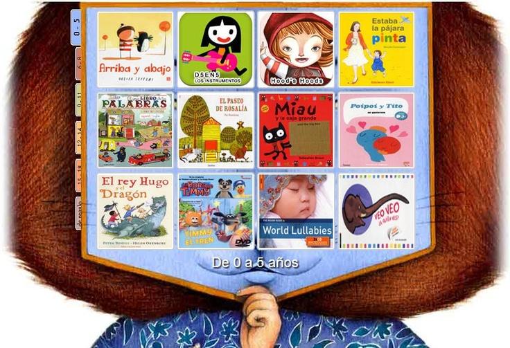 Selección de lecturas de 2011 graduadas por edades y mostradas con un formato muy atractivo. Fundación Germán Sánchez Ruipérez