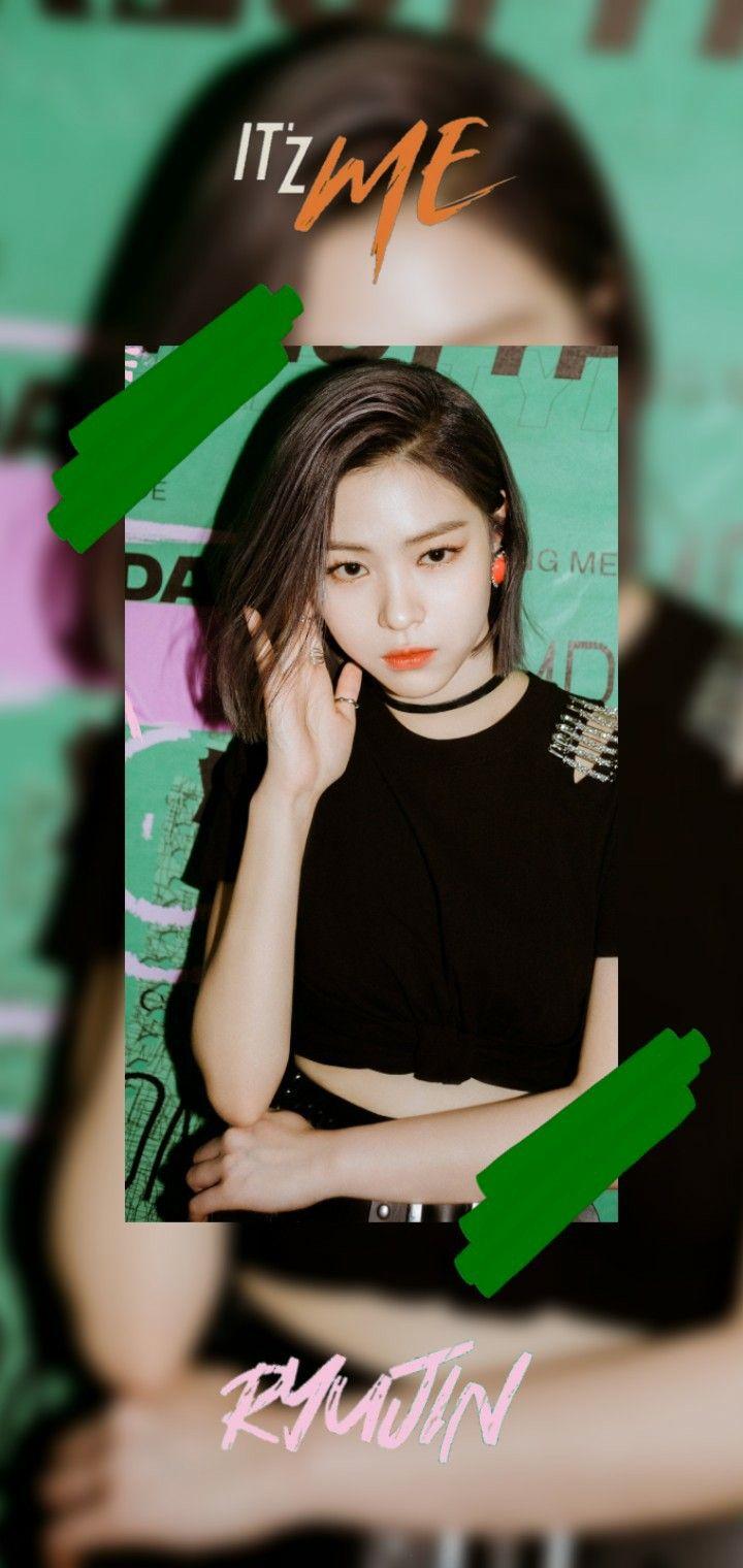 Ryujin Itzy Wallpaper It Z Me Wannabe Artis Selebritas Gadis Korea