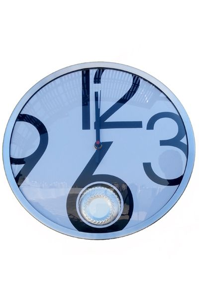 Wall Clock Sky Blue  www.fashiongroop.com