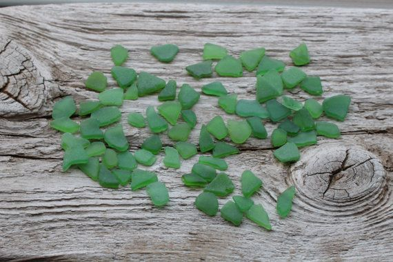 Tiny Green Sea Glass Bulk Sea Glass For от BalticBeachTreasures