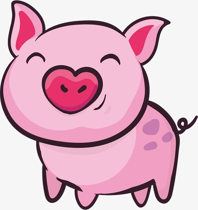 Pink Little Pig Pig Clipart Pig Pink Pig Png Transparent Clipart Image And Psd File For Free Download Pig Cartoon Pig Clipart Cute Piggies