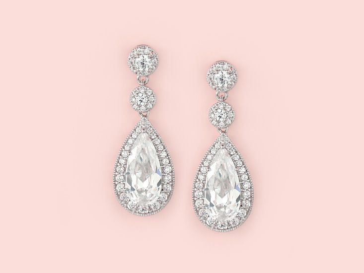 Kate Ketzal Wedding Jewellery | Contessa Earrings These remind me of special times