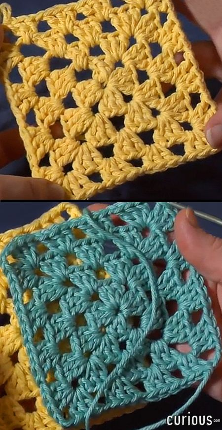 Granny squares are great beginner crochet patterns, but also give advanced crocheters opportunities to experiment with new variations. Learn to crochet one with this tutorial!