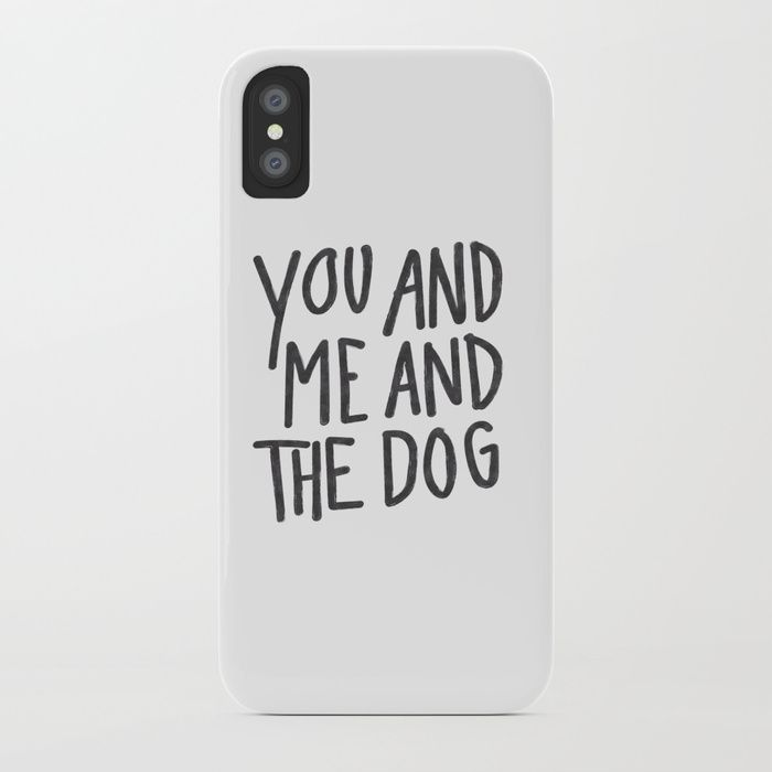 Valentine's - iPhone Case - You, Me, and the Dog