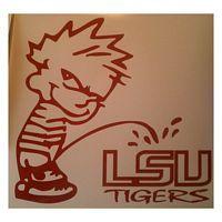 Calvin Pee on LSU Tigers Decal http://www.customsense.com/calvin-pee-on-lsu-tigers-decal-p-588.html