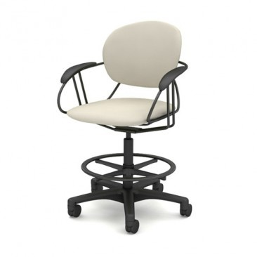 Uno Mid-Back Office Stool