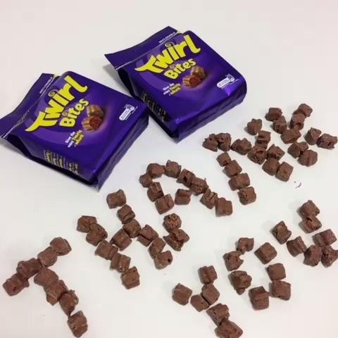 Cadbury UK use Vine to say Thank You.