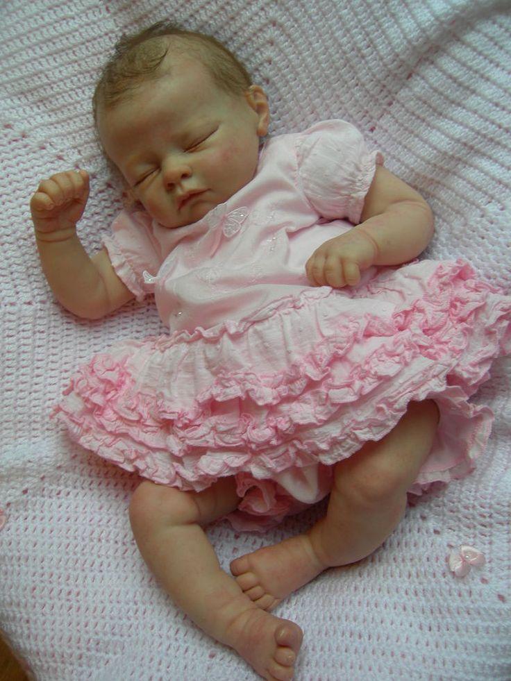 Adorable Real Baby Doll Girl Reborn Andi by Linday Murray... forse la prossima che adotterò sarà così...