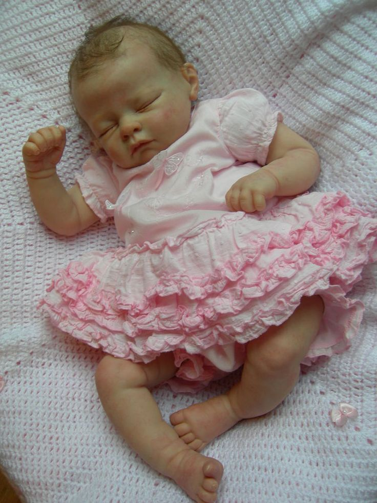 Reborn baby girl dolls for sale: Reborn baby girl doll.: £ | Baby girl reborn doll with silcone body used in great condition cost £ 21 £ | 20inch Soft S/5(8).