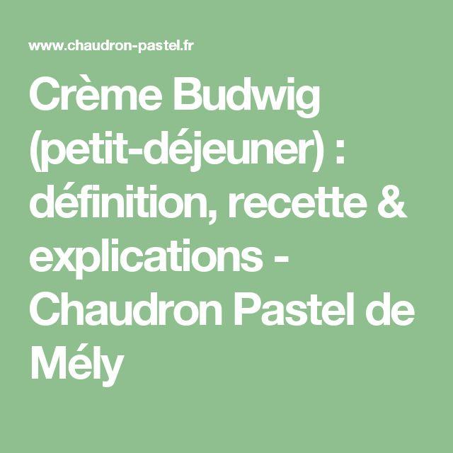 Crème Budwig (petit-déjeuner) : définition, recette & explications - Chaudron Pastel de Mély