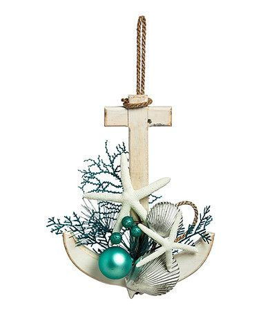 Coastal Anchor Wall Décor  - Christmas by the sea ==