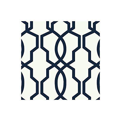 York Wallcoverings GE3664 Ashford Geometrics Hourglass Trellis Wallpaper, Navy Blue/White York Wallcoverings http://www.amazon.com/dp/B00NPI3XYO/ref=cm_sw_r_pi_dp_PI6Nwb03CAYA3