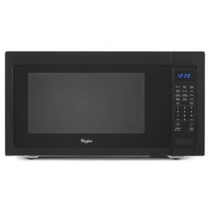 2.2 Cu. Ft. Black Countertop Microwave