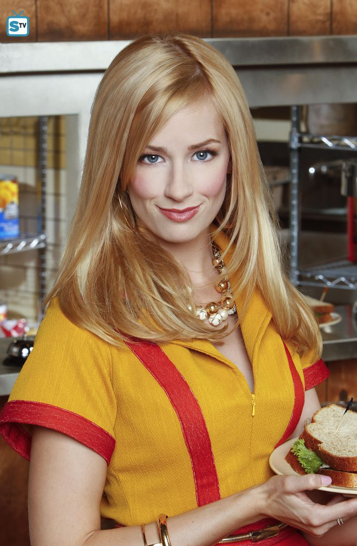 2 Broke Girls -- Beth Behrs stars as Caroline Channi