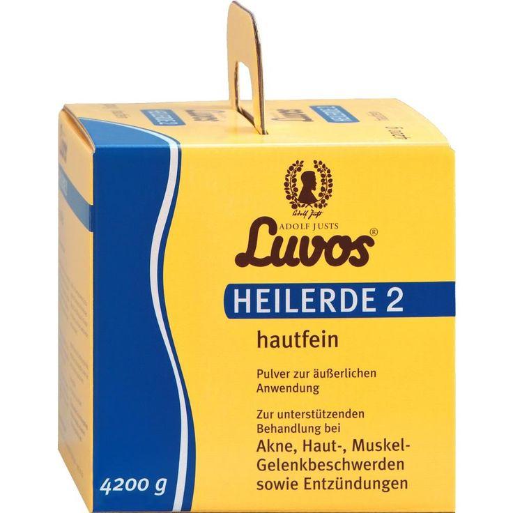 LUVOS Heilerde 2 hautfein:   Packungsinhalt: 4200 g Pulver PZN: 05039283 Hersteller: Heilerde-Gesellsch.LUVOS JUST GmbH&Co.KG Preis:…