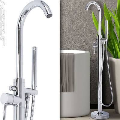 freestanding bath taps with shower