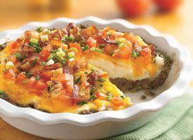 & Twice Baked Potato Pie Recipe | RECIPES | Pinterest | Potato Pie ...