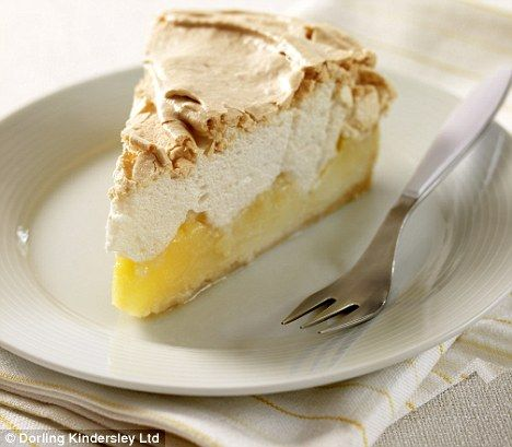 Lemon meringue pie by Mary Berry.