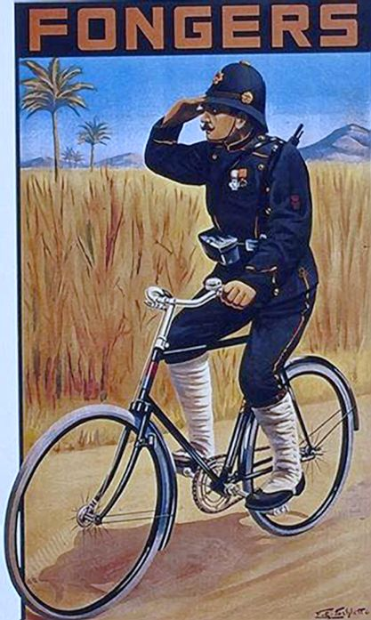 z- Bicycle Infantry (Fongers Bicycles- ad), II