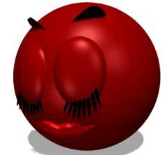 Smileys vermelhos                                                       …