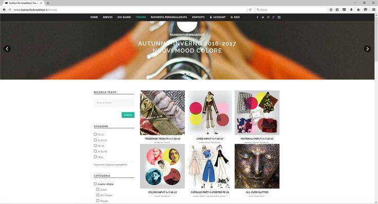 Altra piccola anteprima del nostro portale che sarà online subito dopo l'evento digitale di lancio. Si tratta dell'area trends dove caricheremo tutti gli articoli a pagamento. Siete pronti ad acquistare il vostro abbonamento con un semplice click?  #FashionForBreakfast #Tendenze