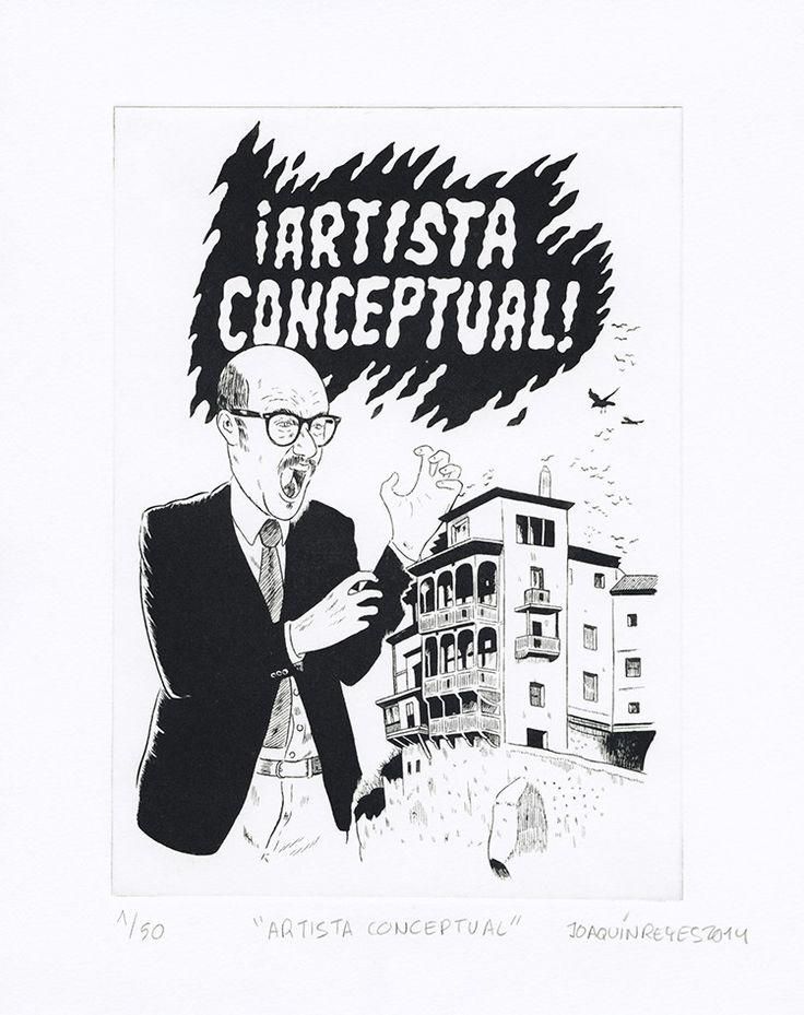 ¡Artista conceptual! de Joaquín REyes