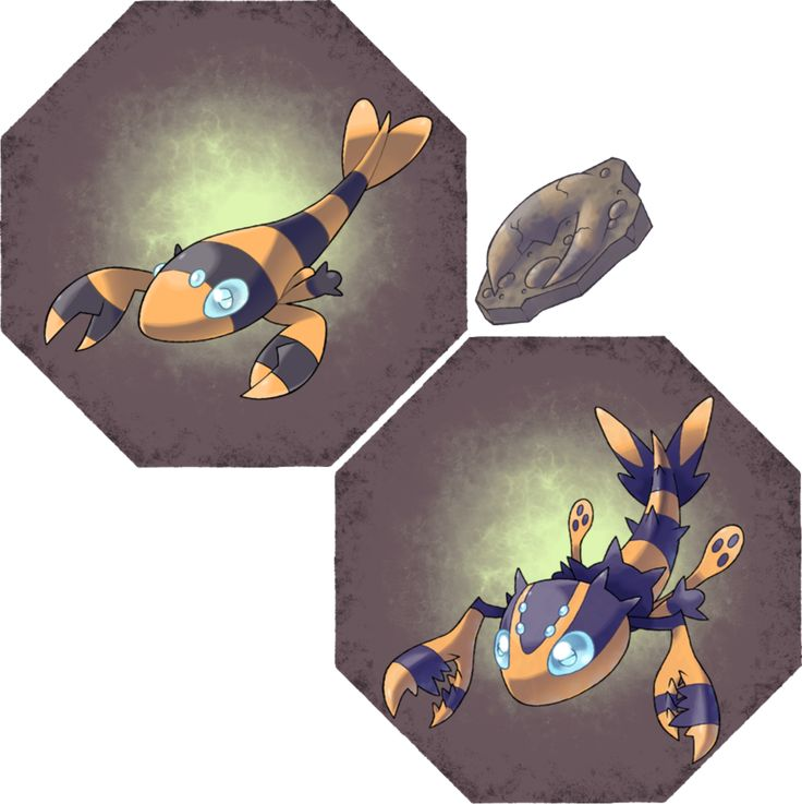 Pincer Fossil by Hyshirey on DeviantArt