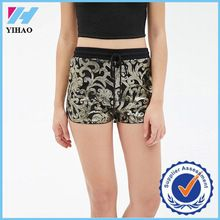 2016 New design Women Sequined Ornate-Pattern Shorts 100% polyester sexy hot shorts for ladies wholesale athletic wear Best Seller follow this link http://shopingayo.space