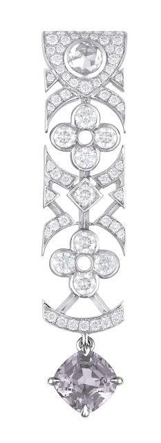 brincos Dentelle de Monogram, com as flores do monograma LV