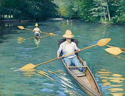 Gustave Caillebotte - Skiffs - 1877 - Painting