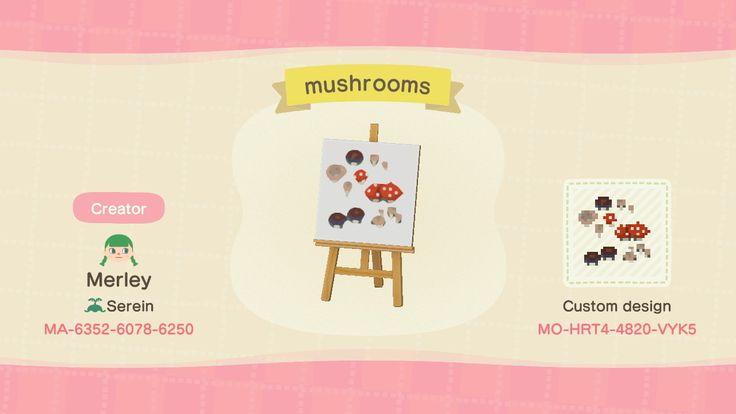 11++ Animal crossing mushroom diy images