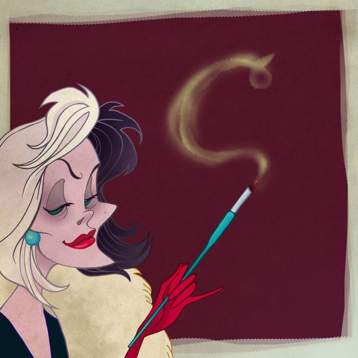 ABC Disney- Cruella by spicysteweddemon on DeviantArt