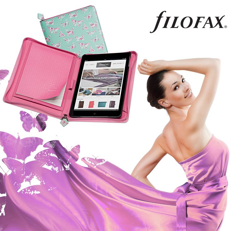 Beautiful Butterfly print Filofax tablet cases #filofax