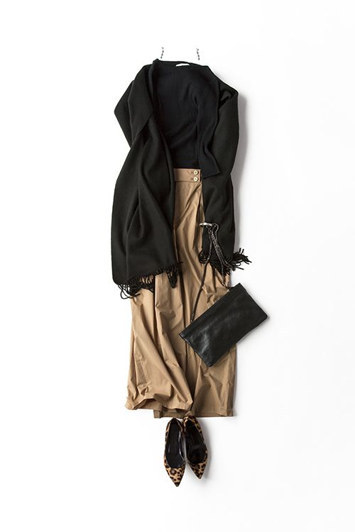Black x Khaki from Uniqlo