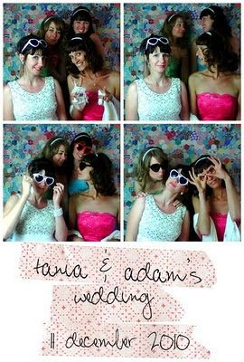 One of the best things we did for the wedding was definitely the photobooth.