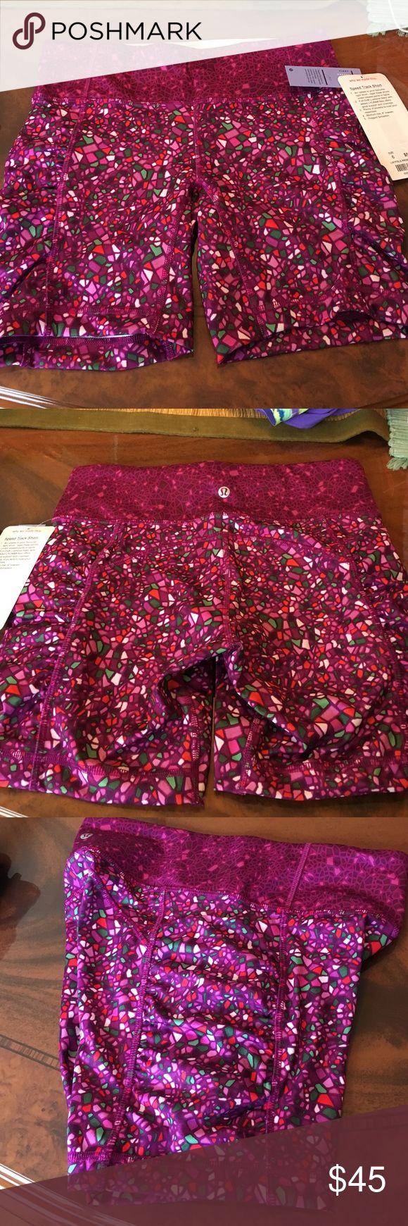 Clearance!!!!!!!! Lululemon Speed Track Short Brand new short lululemon athletica Shorts