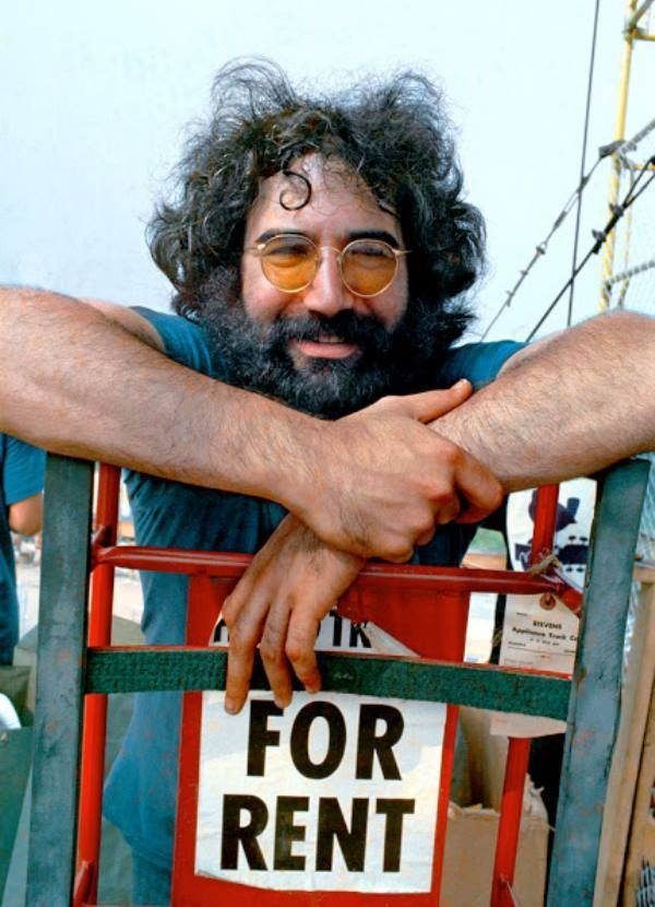 Good music lives on forever. {Photo of a young Jerry Garcia)