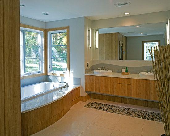 bamboo bathroom cabinets design