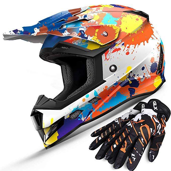 Wow Youth Kids Motocross Atv Dirt Bike Helmets Hboy Stars Dirt Bike Helmets Bike Helmet Kids Atv