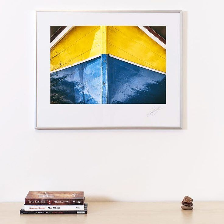 Another print is ready to go. Also available on canvas. #summer #luzzu #malteseboat #etsy #fineartprint #abstractprint #abstract #wallart #wallprint #share #follow4follow #summercolors #colorsofsummer #canvas