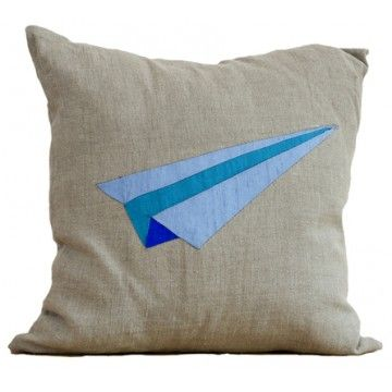 Origami Airplane Pillow