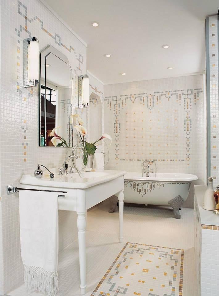 30 best mosaiigid   mosaics images on Pinterest Mosaic, Mosaic art - mosaique rose salle de bain