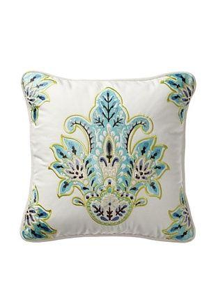 50% OFF Echo Serena Decorative Pillow, White