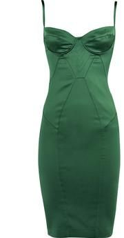 Just Cavalli emerald slip dress. I think I seen Jennifer love Hewitt wear something like this?!? So beautiful!