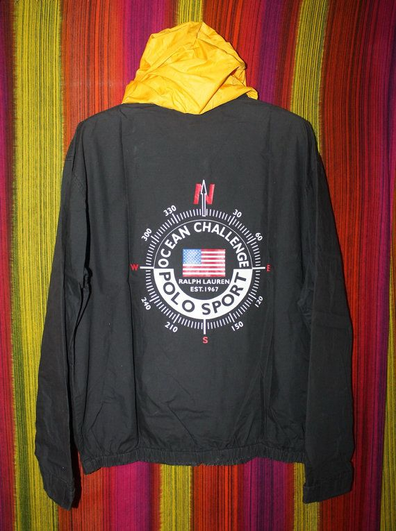 Vintage Polo Sport Ralph Lauren Ocean Challenge Jacket
