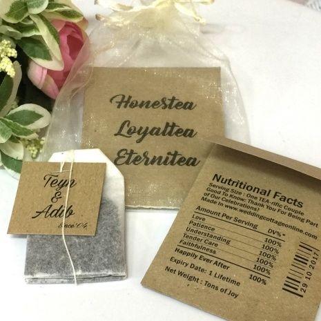 25 unique Tea bag favors ideas on Pinterest  Tea party
