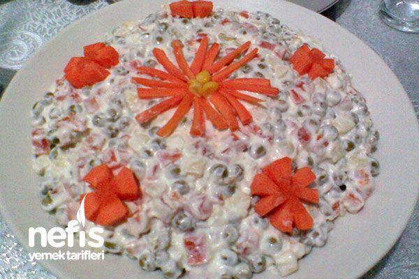 Rus Salatası (Olivye Salatası) - Nefis Yemek Tarifleri