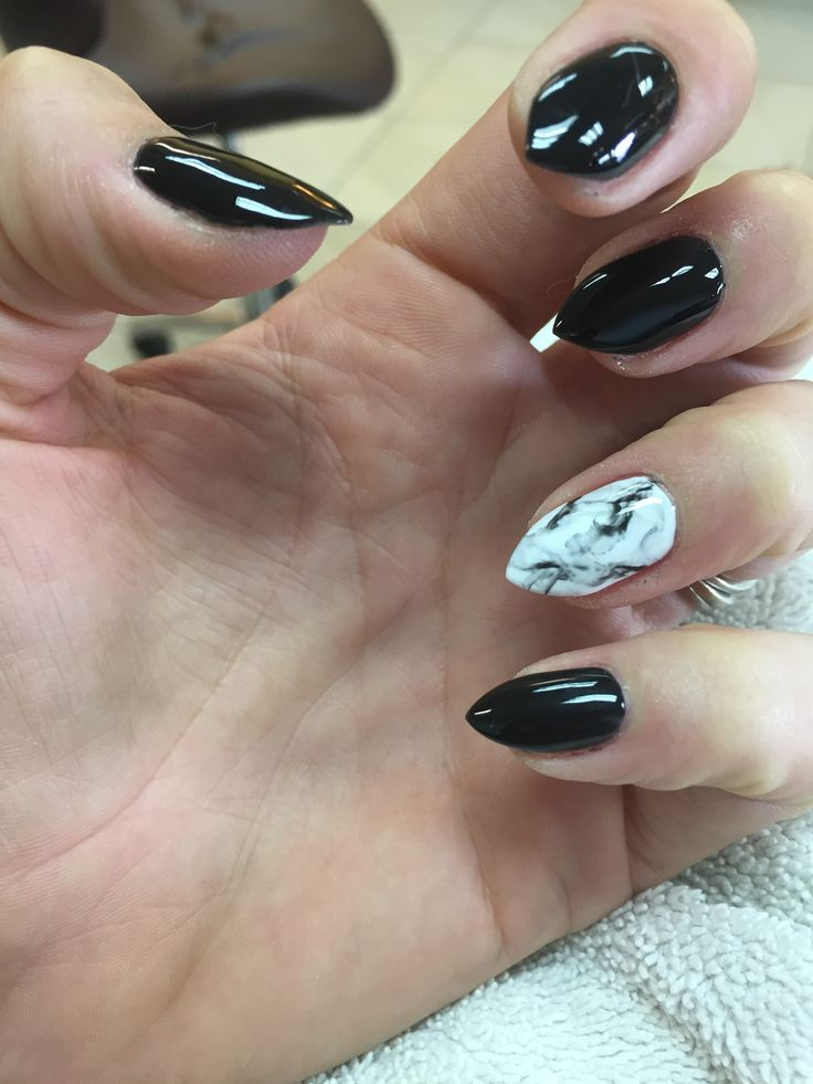 Marble nails, mountain peak shape - 103 Best Nails!! Images On Pinterest Make Up, Makeup And Nail Art